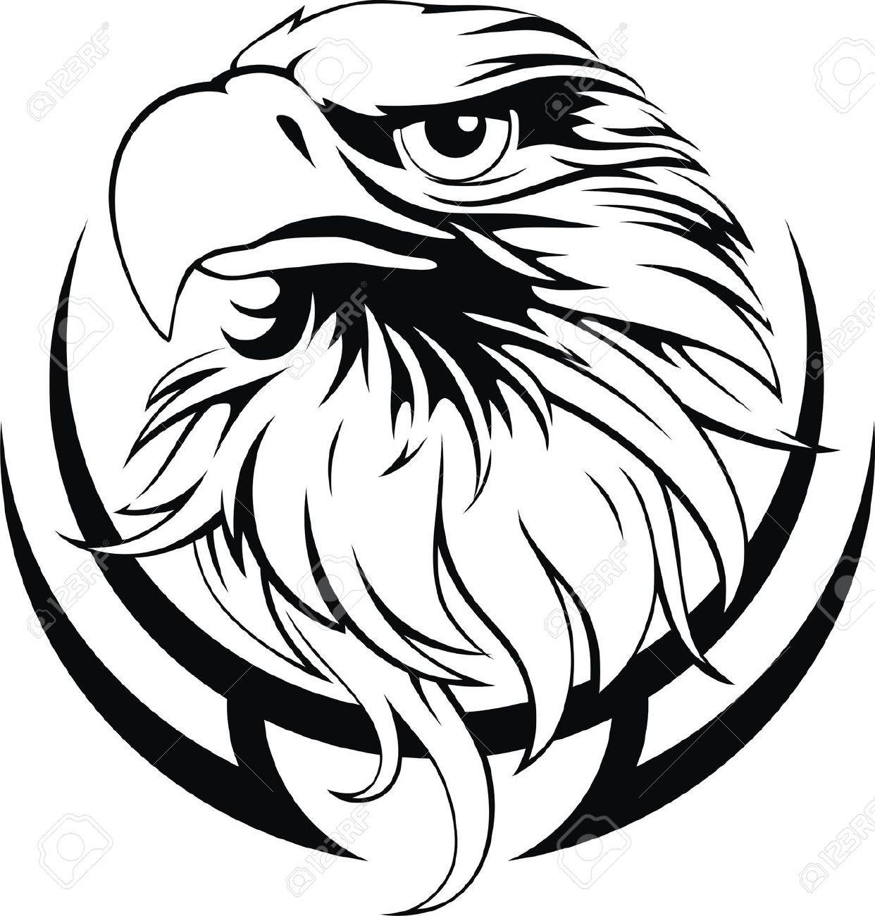 Black Hawk Cliparts, Stock Vector And Royalty Free Black