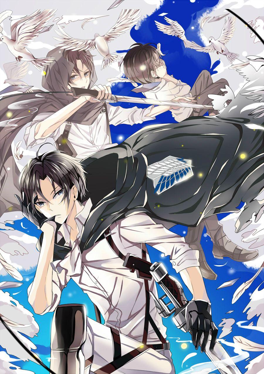 Sukihi, Shingeki no Kyojin Anime, Anime images, Attack