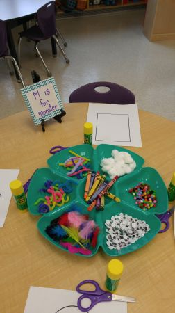 Letter M activities and center ideas for your kindergarten classroom.