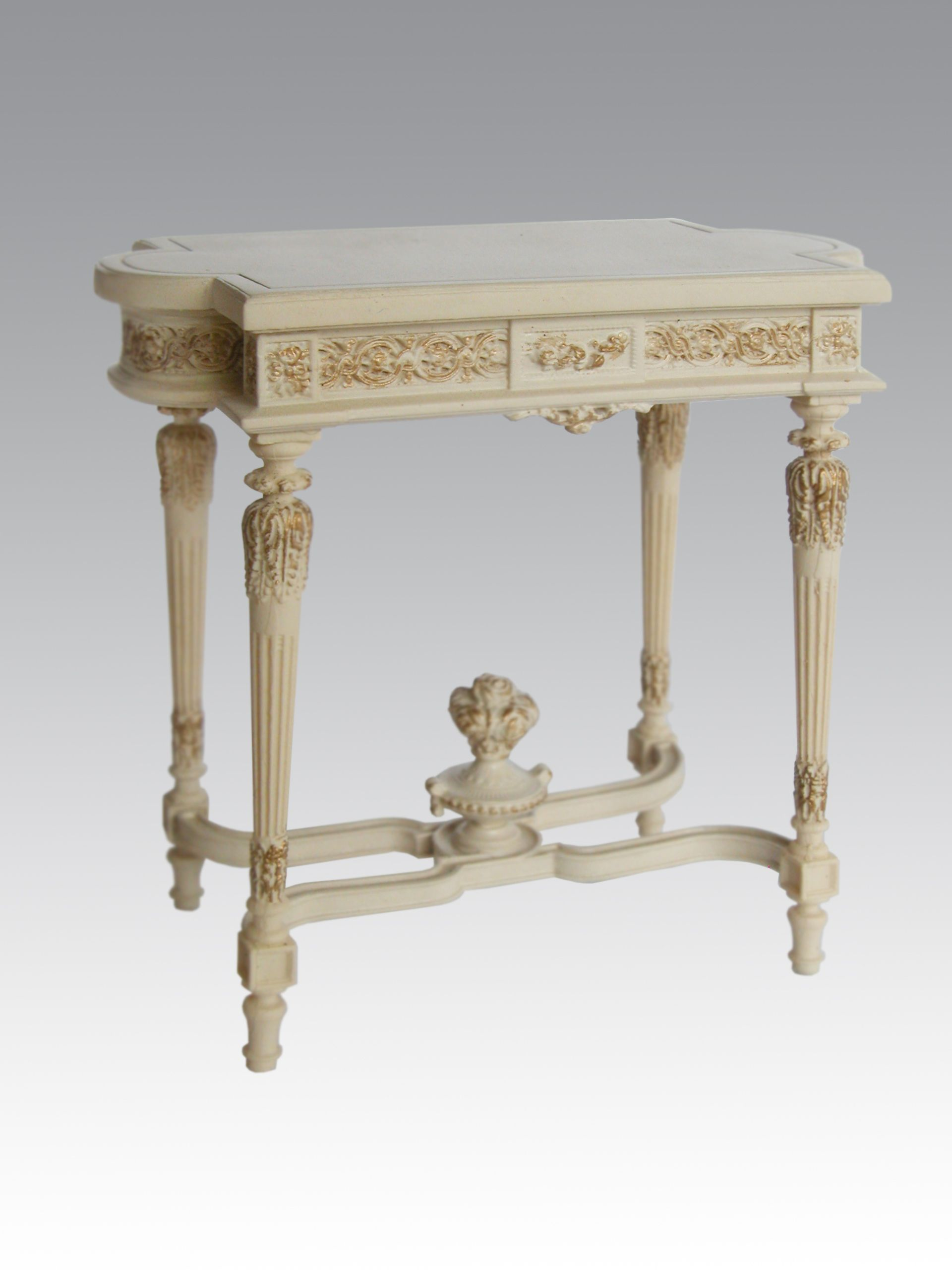 18th Century French Console Table By Alison Davies Www Alisondaviesminiatures Co Uk