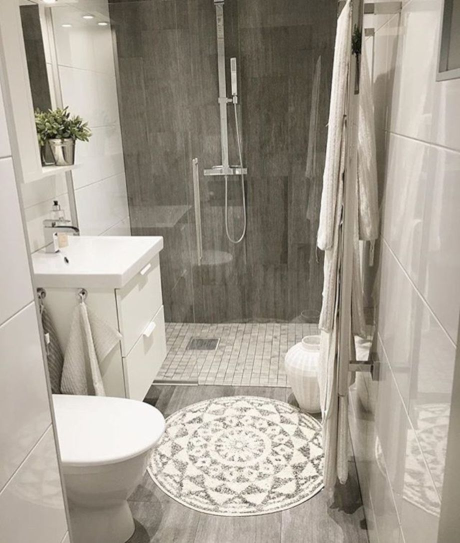 Small Bathroom Makeovers: Nice 72 Lovely Small Master Bathroom Remodel On A Budget