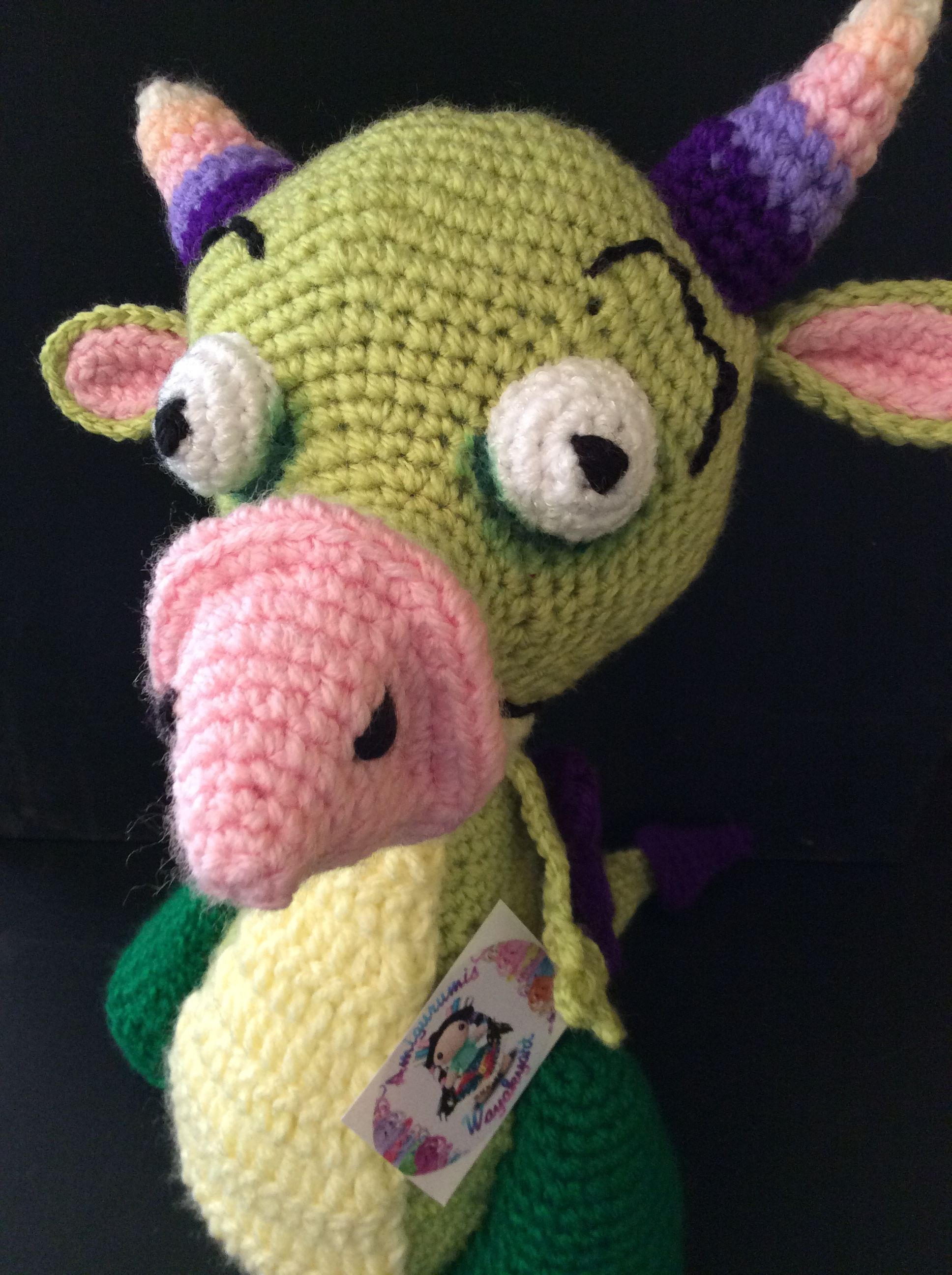 draco #babytv #amigurumi #crochet #dragon https://m.facebook.com ...