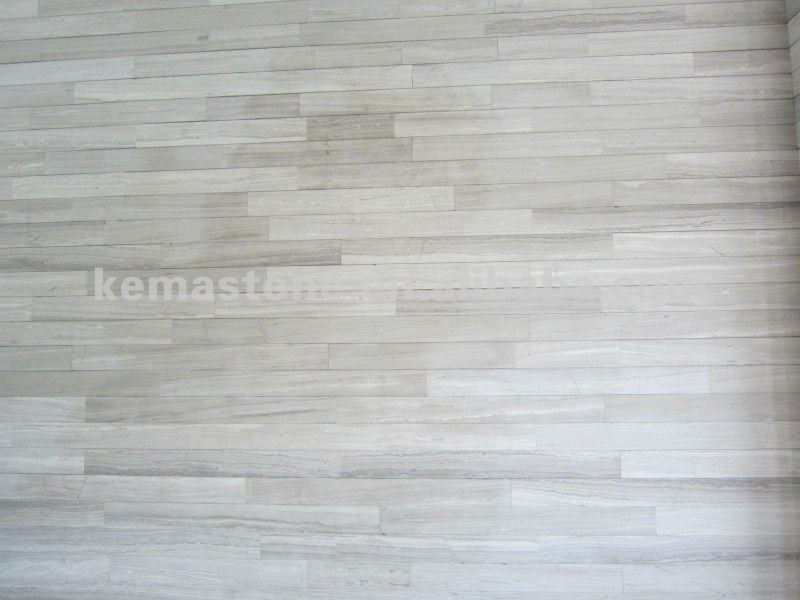 White Wood Grain Vein Marble Thin Tile Product On Alibaba