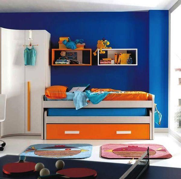 Cobalt Blue Kids Bedroom Designs Boy Bedroom Design Boys Room Blue