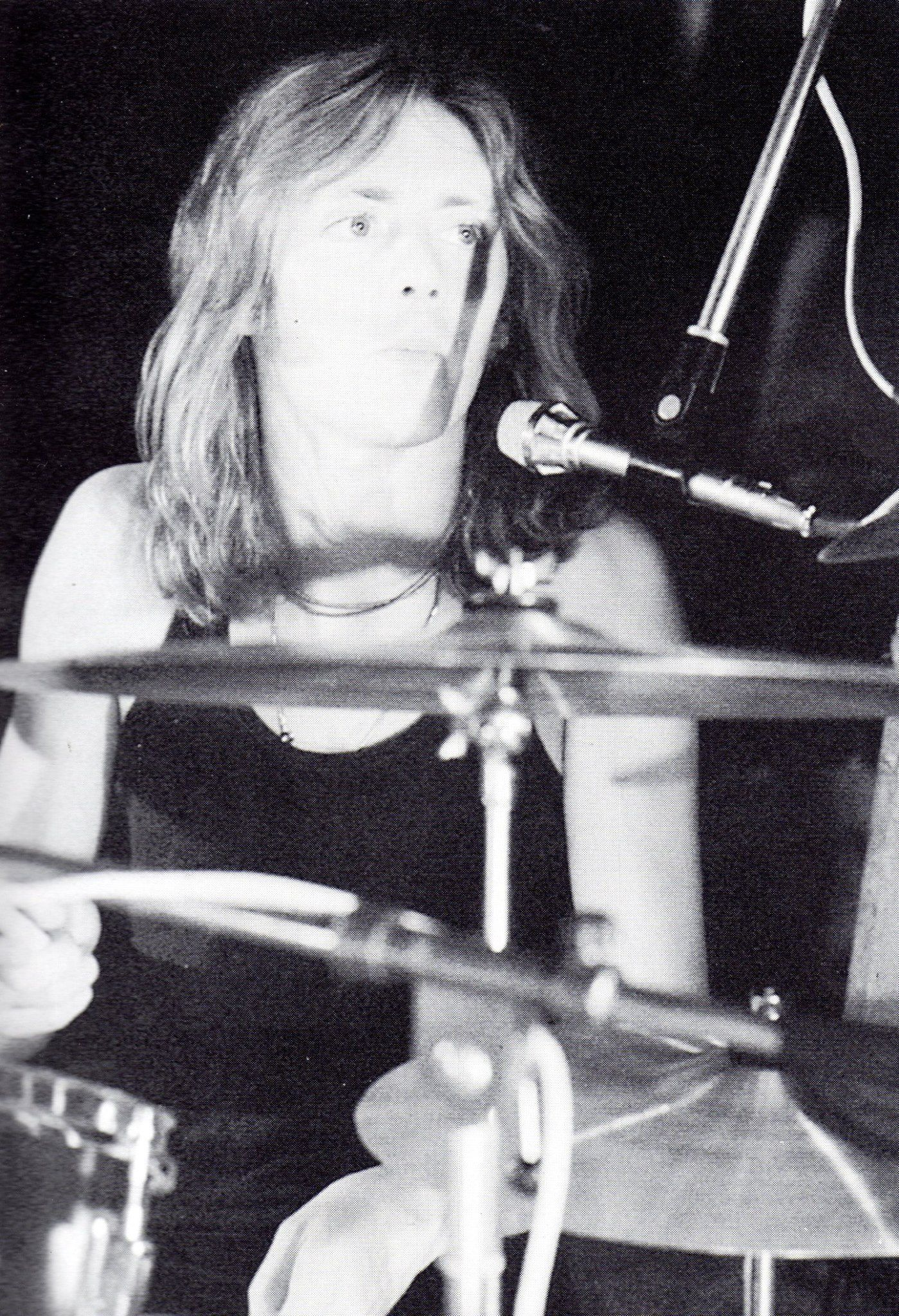 Roger Taylor In 1973 Photo By Les Wilson Via Queen