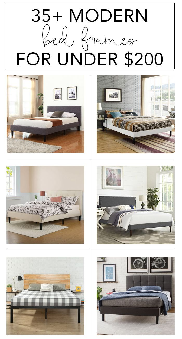 35 modern bed frames for under 200 bed frames modern and room