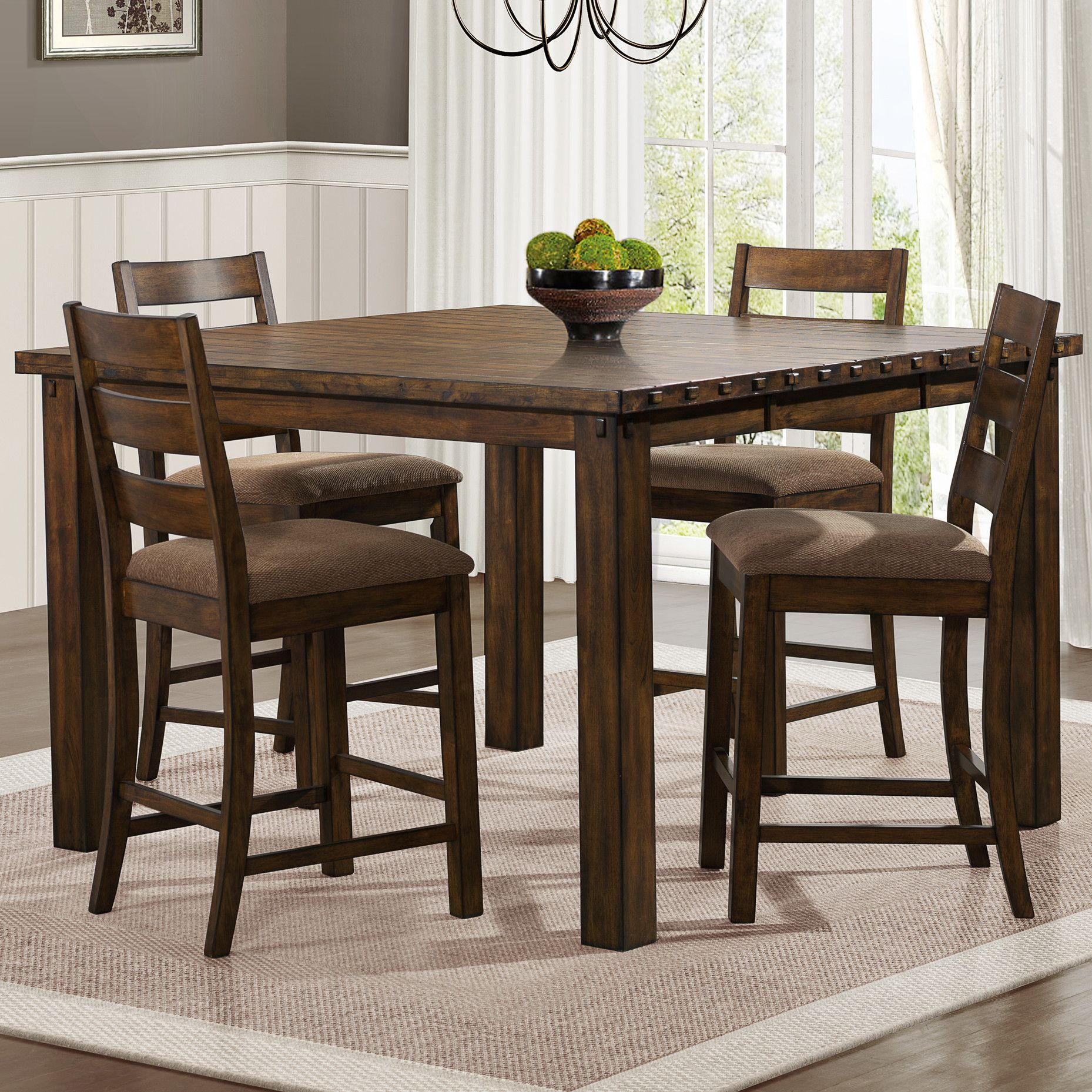 Ronan Counter Height Extendable Dining Table Dining Table In Kitchen Counter Height Dining Table Counter Height Dining Sets