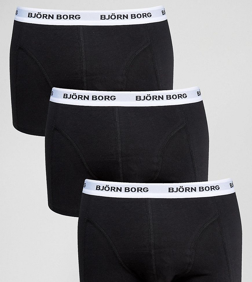 Outlet Shop Offer Trunks In Black With Branded Waistband 5 Pack SAVE - Black Asos Cheapest Price Cheap Price GoJXqd