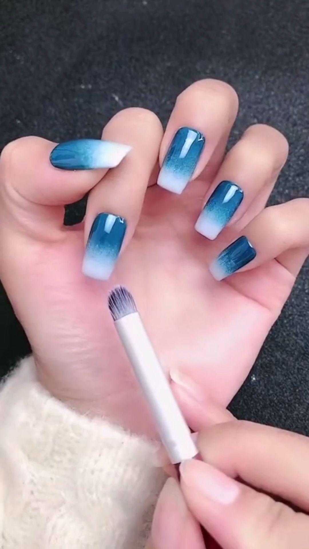 Simple nails art design video Tutorials Compilation Part 107