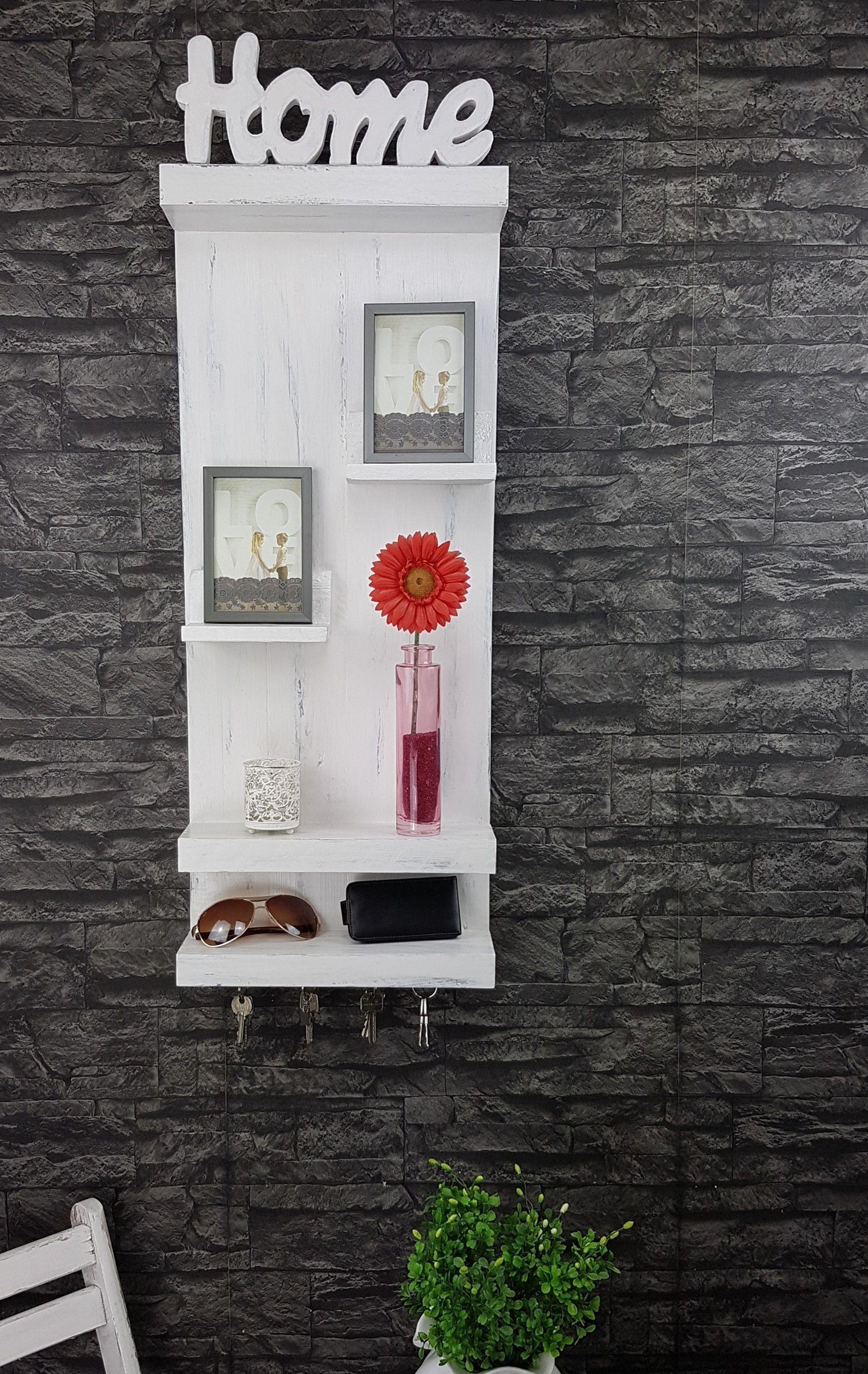 wandregal shabby look regale shelf pinterest wandregal regal und wandregal shabby. Black Bedroom Furniture Sets. Home Design Ideas