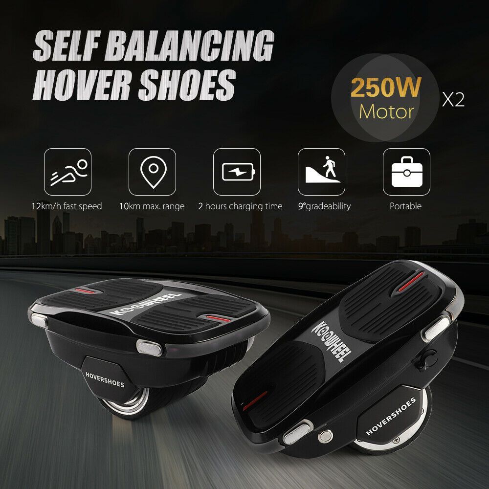 Electric Hover Shoes LED Self Balancing Smart Scooters Flying Wheel Roller Skate