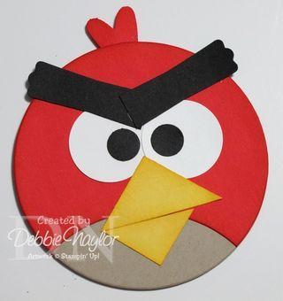Angry Bird Card Ideas Pinterest Stanzen