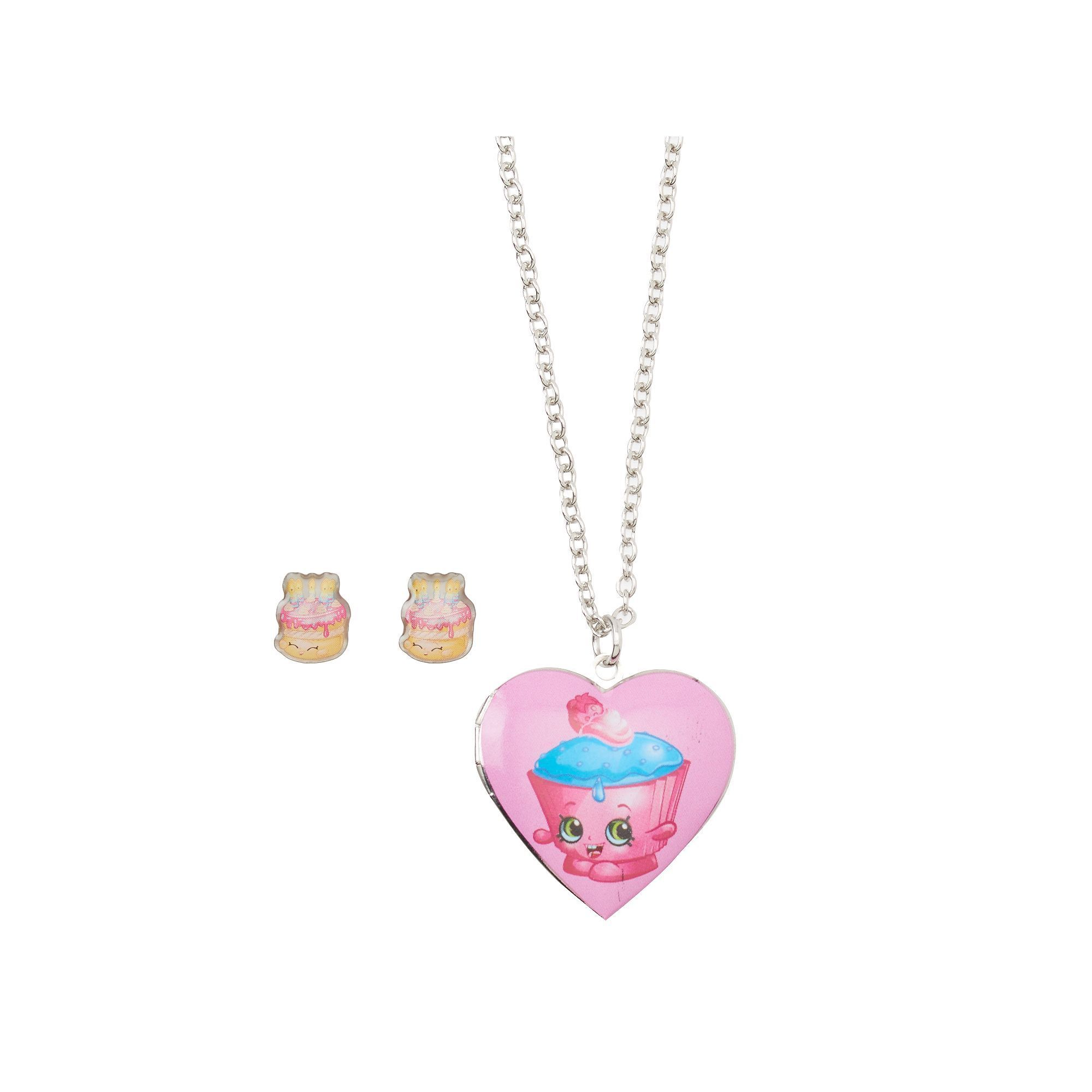 view lockets product locket heart necklace girls gold side