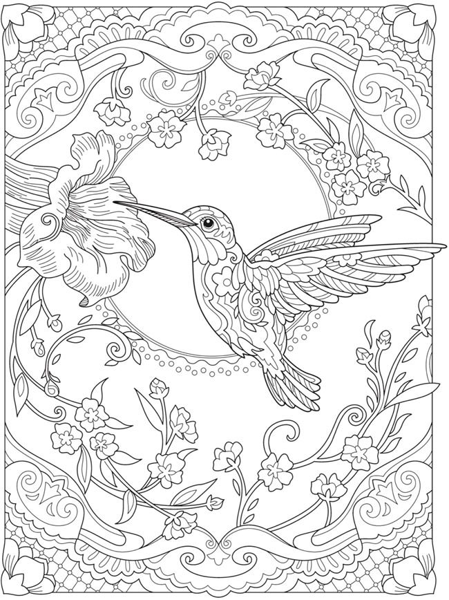 - Welcome To Dover Publications In 2020 Bird Coloring Pages, Animal Coloring  Pages, Mandala Coloring Pages