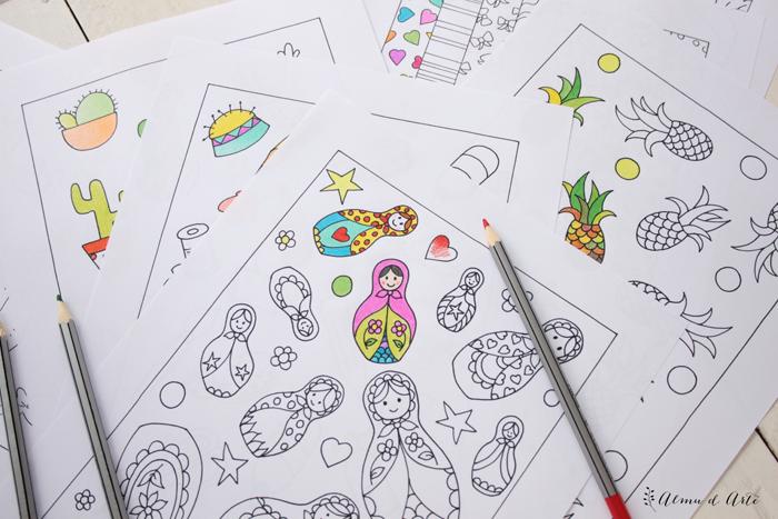 Juegos De Colorear Dibujos Bonitos: LAMINAS BONITAS COLOREAR