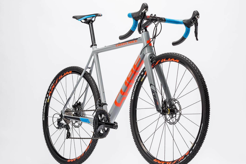 Cube Cross Race Sl Grey N Flashorange 2016 Rennrad Fahrrad Rennen