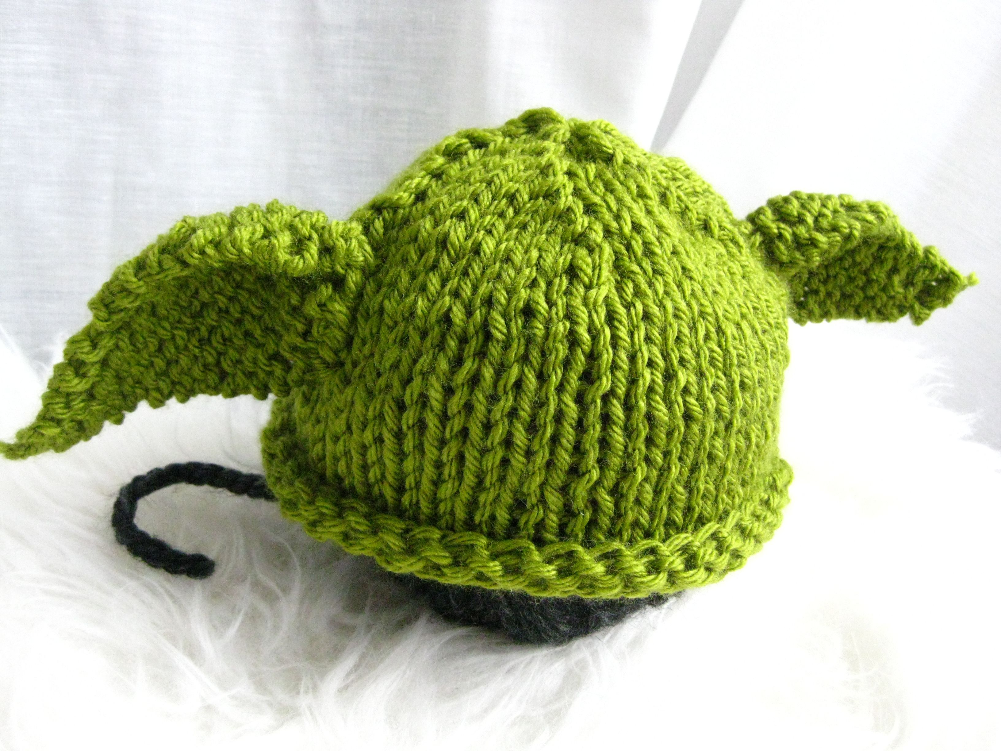 15197f30608 Baby Yoda Knit Hat (with Free Pattern)