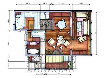 pingl par maliceetdelices sur plan maison. Black Bedroom Furniture Sets. Home Design Ideas
