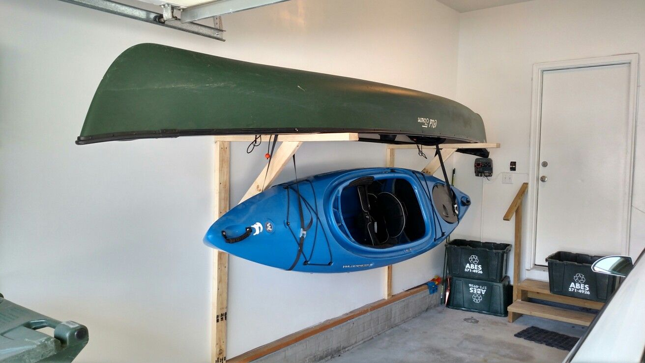 paddle lbs storage kayak sports system electric model product power gator lift elevated garage
