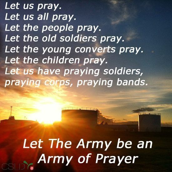 Quotes About Salvation Cool Salvation Quotes  Let The Salvation Army Be An Army Of Prayer