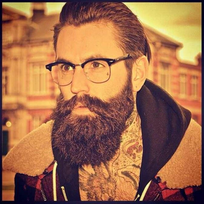 Ricki Hall - his moustache is on point.