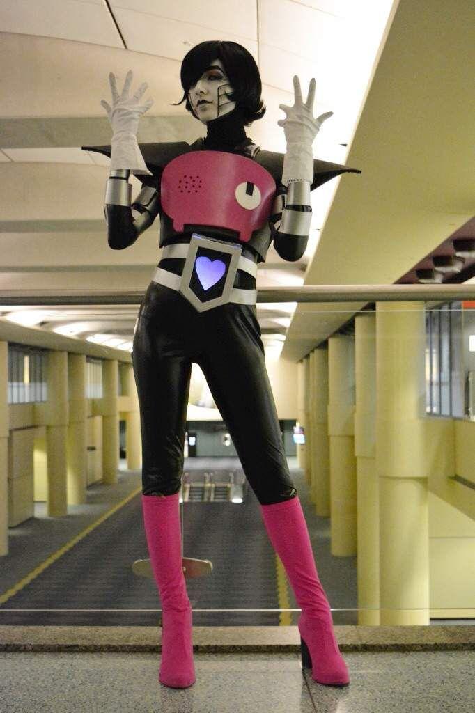 Undertale Mettaton EX Cosplay Costume Elastic fabric custom made