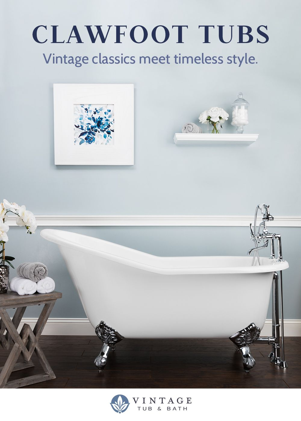Shop Clawfoot Tubs Starting At 876 Clawfoot Tub Bathroom Makeover Shower Remodel