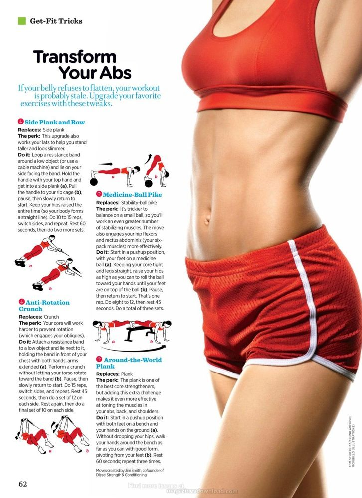 Transform your abs.