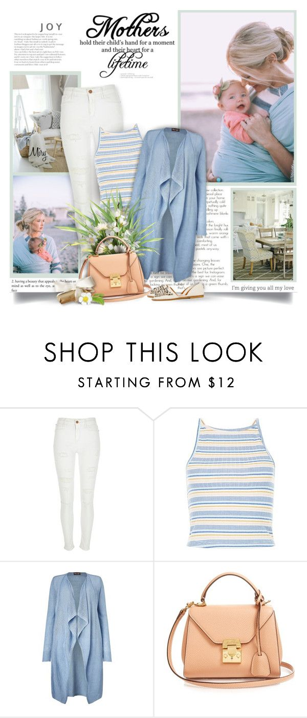 """The Heart Of A Mother"" by thewondersoffashion ❤ liked on Polyvore featuring River Island, New Look, Phase Eight and Mark Cross"