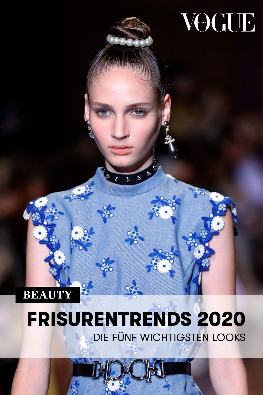 Frisurentrends 2020 Die Funf Wichtigsten Haar Looks In 2020 Mit Bildern Frisurentrends Frisuren Trend Frisuren
