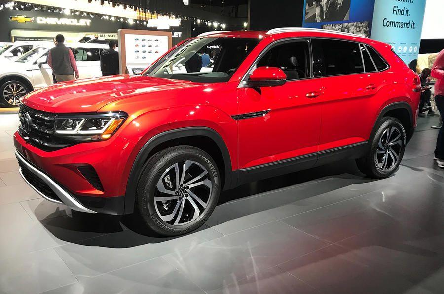 Volkswagen Atlas Cross Sport Revealed Volkswagen Sport Suv