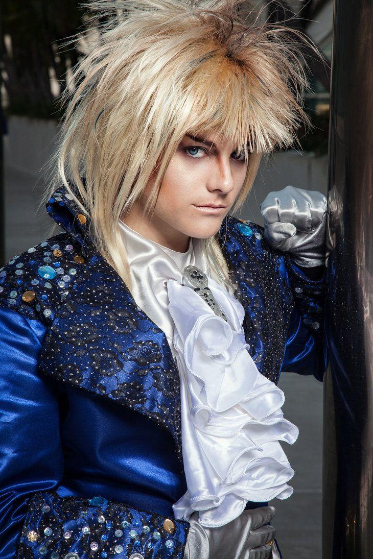 b3b057d619c9 Goblin King Jareth cosplay-Labyrinth. Really well done. I applaud you.