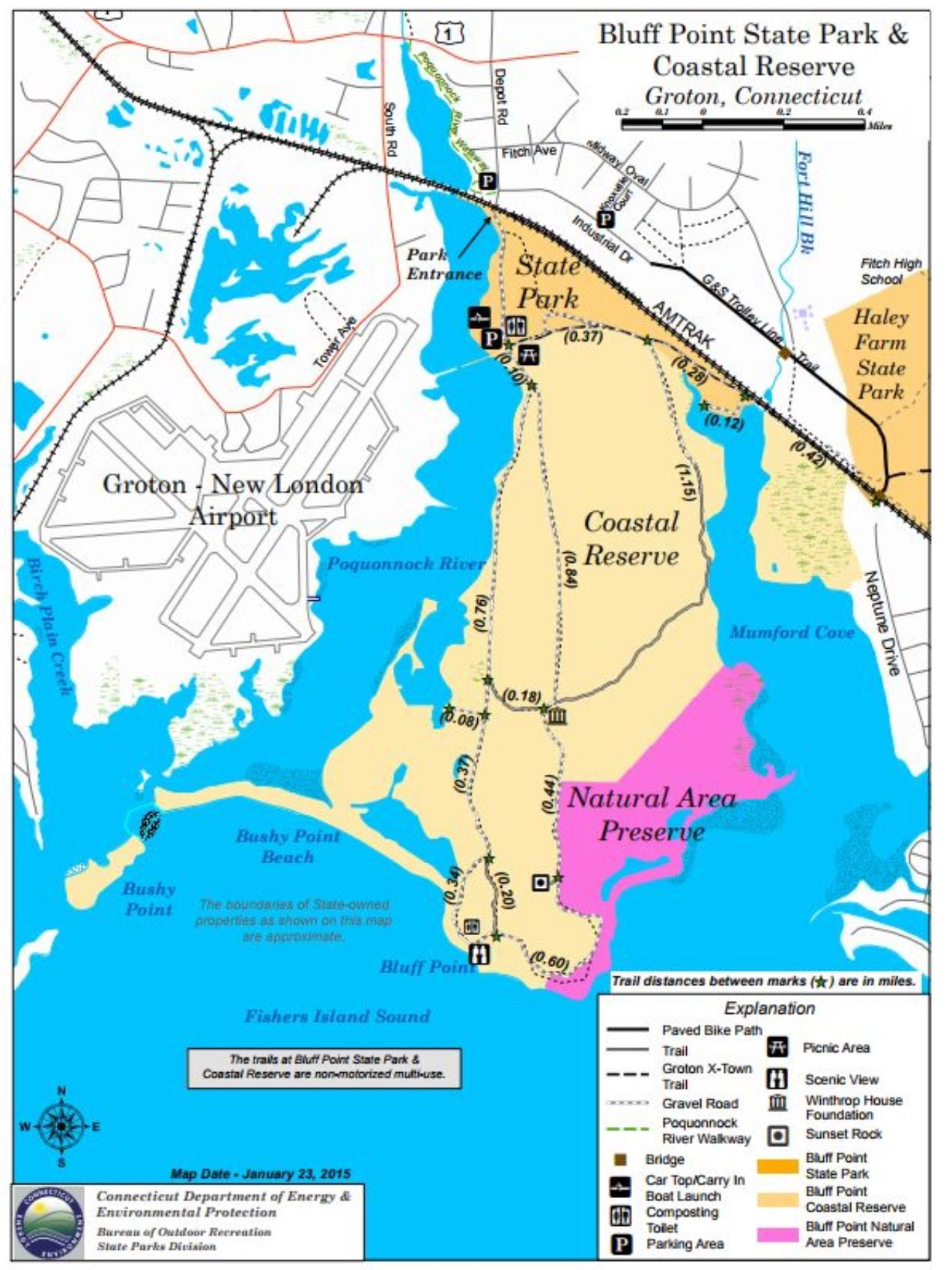 Bluff Point map | Connecticut | State parks, Connecticut, Map on ct united states map, conn state map, st of ct map, connecticut road map, ct county map, ct highway map, ct city map, stamford ct road map, ct state camping, ct new london map, connecticut state map,