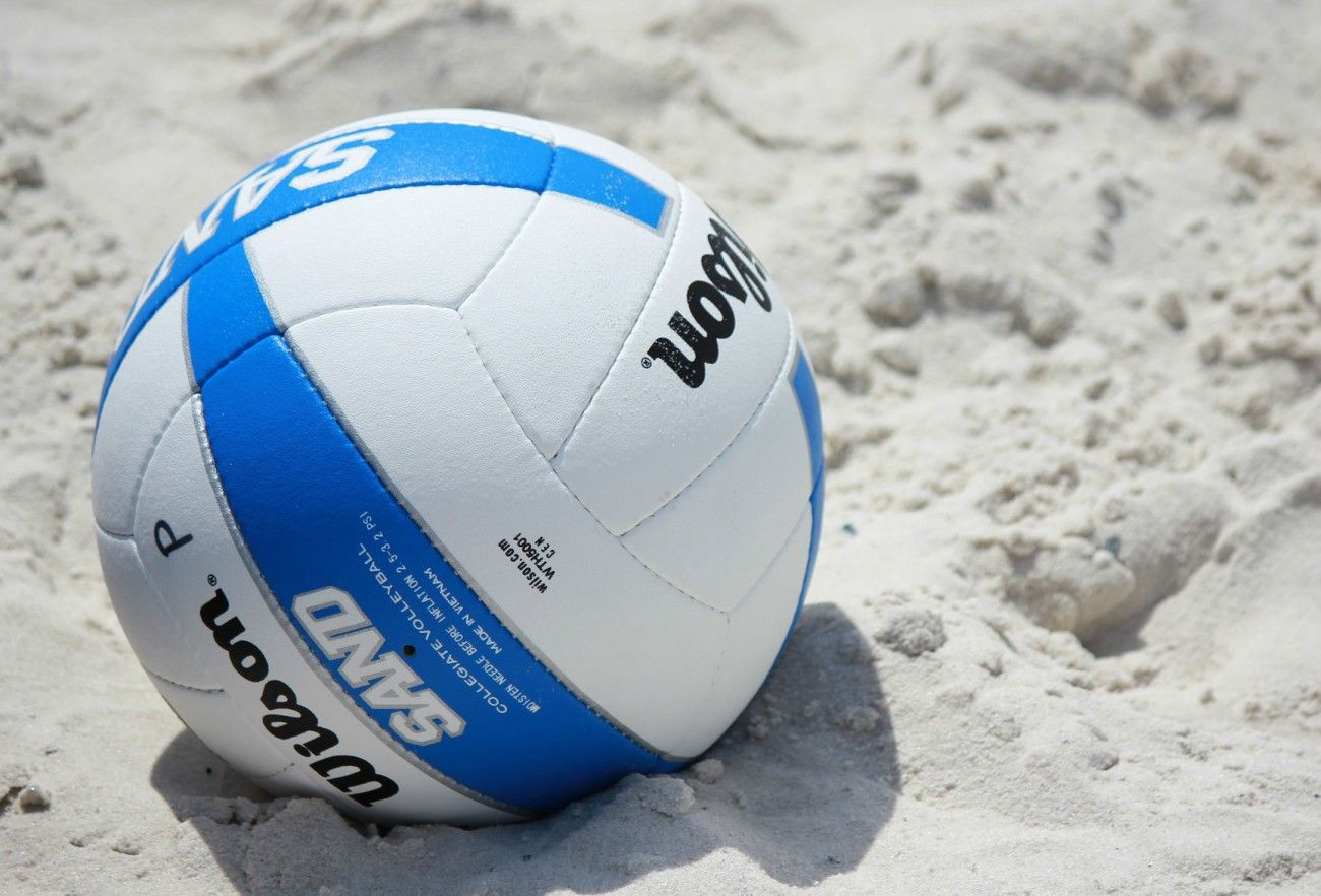 Have a ball enjoying our beach during athletic