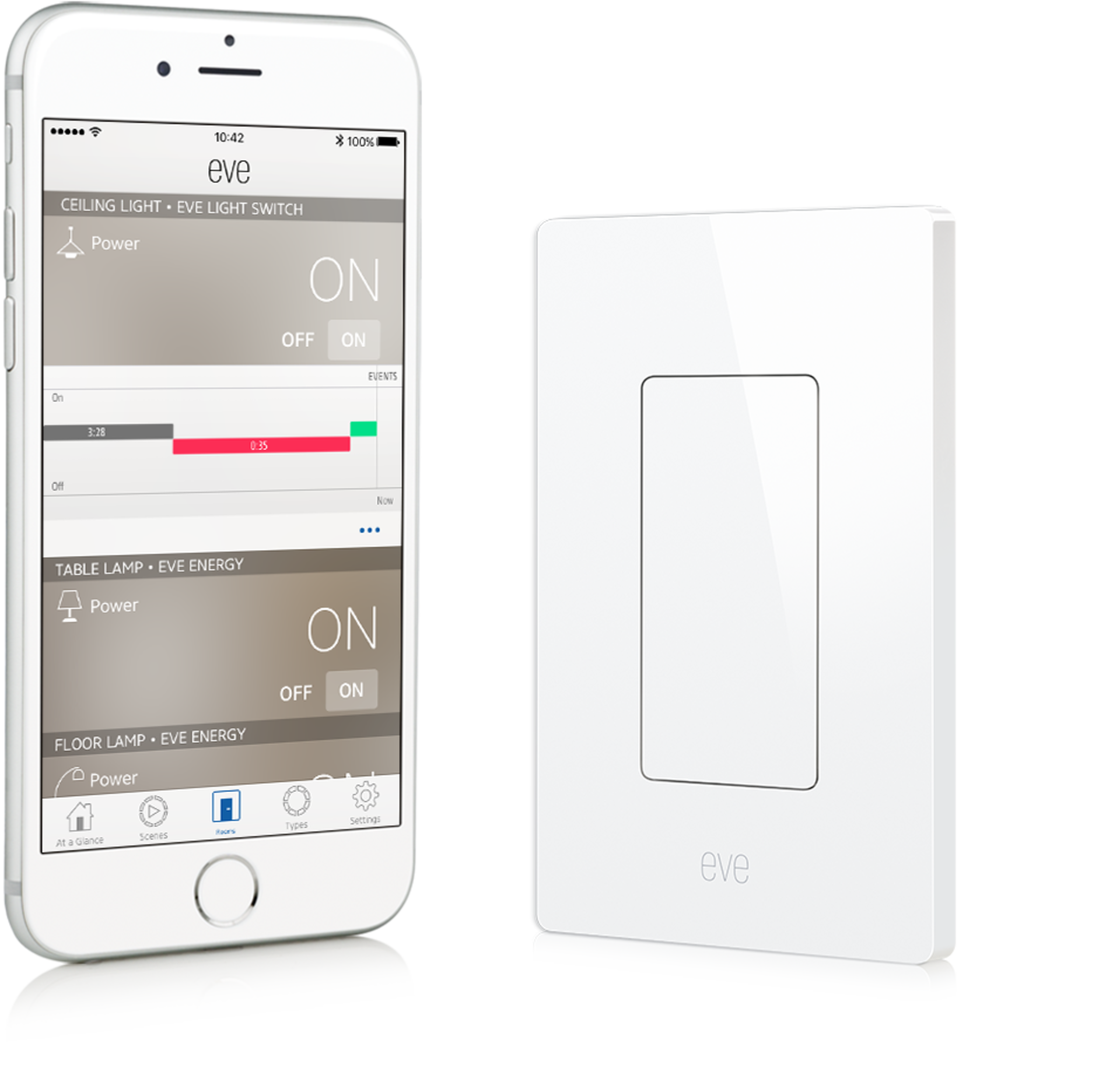 Eve Light Switch | elgato.com | Smart Home | Pinterest | Light ...