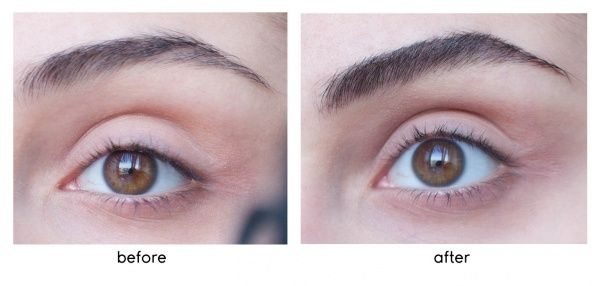 Image result for before and after eyebrow gel tint