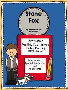 Stone Fox is a fabulous piece of easy-to-read literature- it is written at about third grade level and perfect for older special education students. I have designed this unit for struggling readers and writers of all levels.