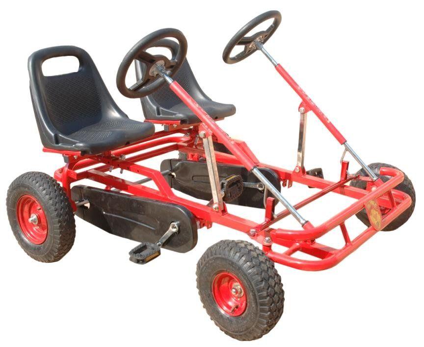 Assento Duplo-pedal Go Kart//pedal Carrinho/crianças Pedal Go Kart ...