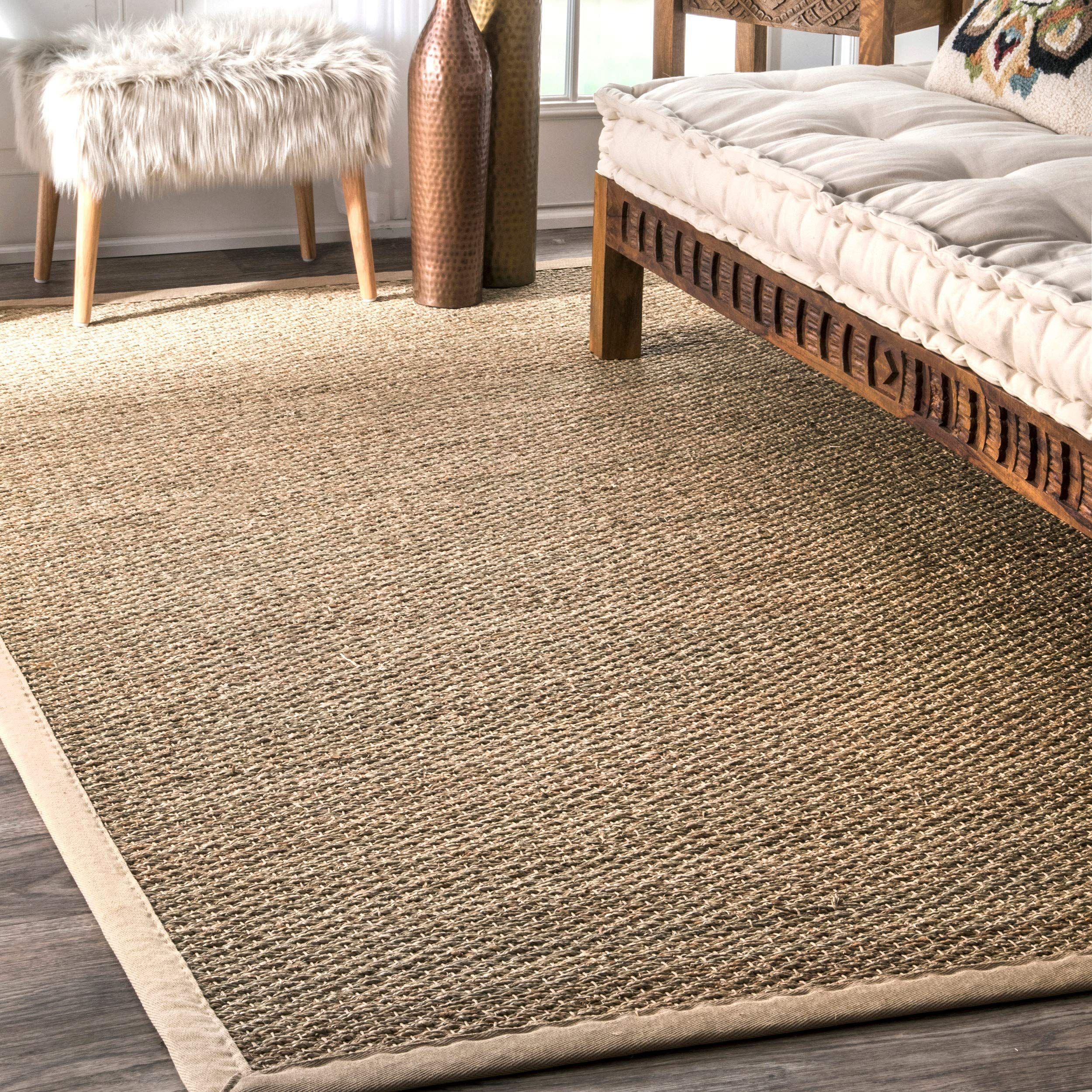 Nuloom Elijah Seagrass Natural Area Rug 6 X 9 Beige In 2020 Area Rugs Seagrass Rug Natural Area Rugs