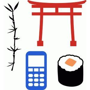 Silhouette Design Store - Search Designs : japanese
