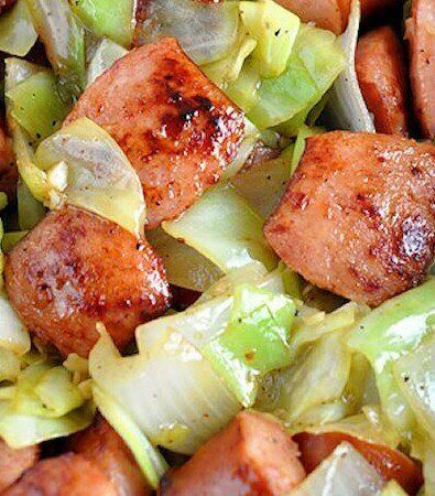 Slow Cooker Cabbage, Sausage and Potatoes images