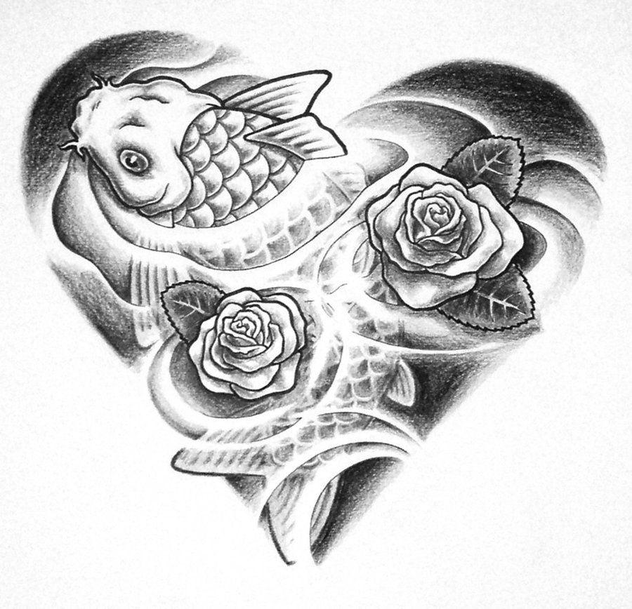 Koi fish tattoo designs design 900x868 pixel tattoo for Coy fish designs