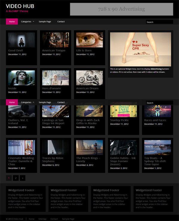 Video Hub WordPress Theme by RichWP | Premium Wordpress Themes ...