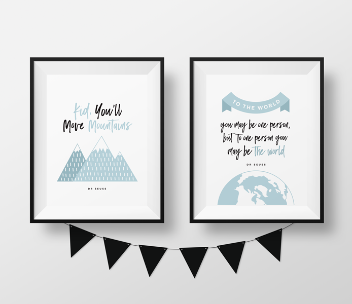 15 Each Dr Seuss Quote 8 X 10 Prints Wall Art Black And White Kids Room Nursery Wall Art Decor Kee Dr Seuss Nursery Birth Details Dr Seuss Quotes