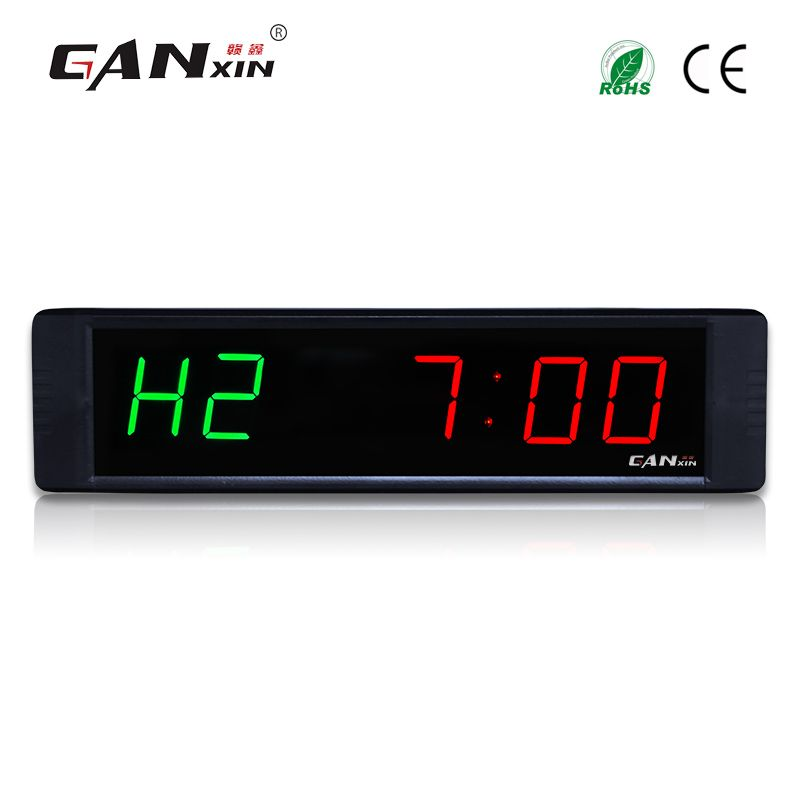 Programmable LED Crossfit Interval Fitness Training Timer Clock Tabata w// Remote