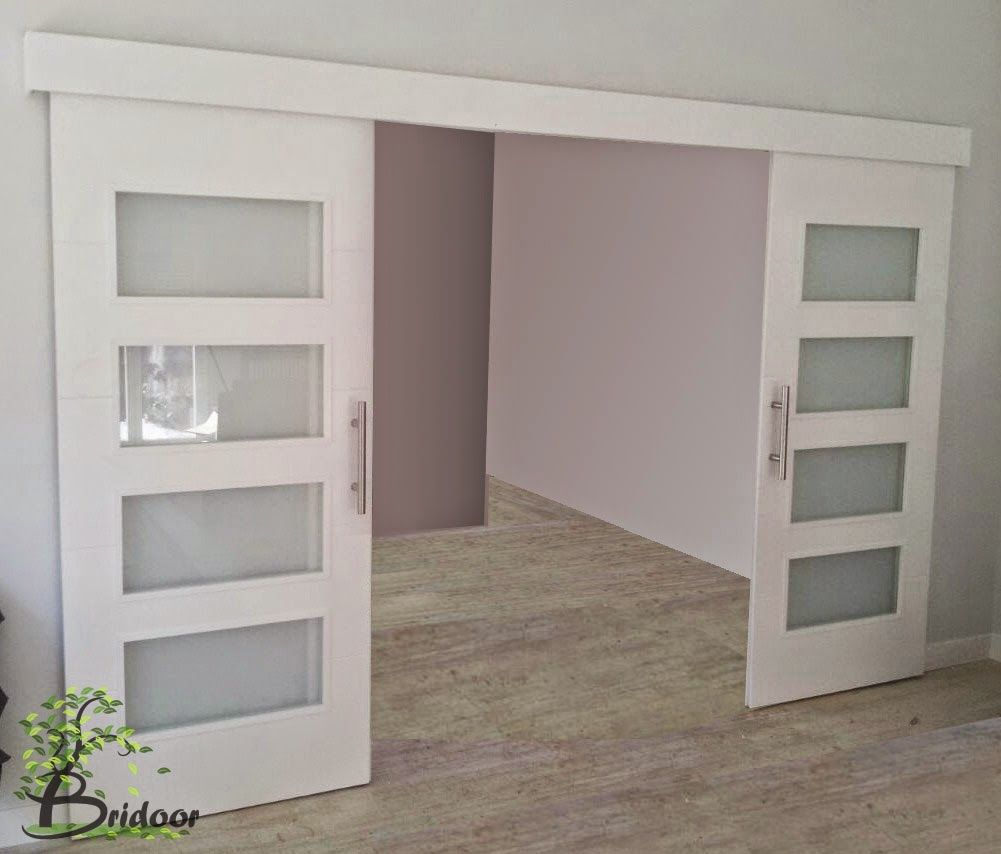 resultado de imagen de puertas correderas salon - Puertas Correderas Blancas