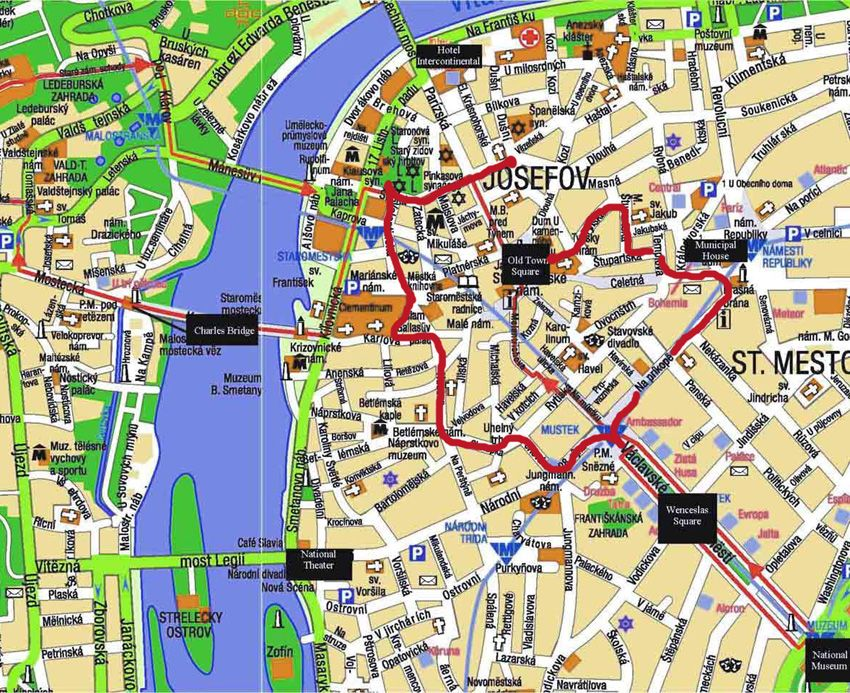 walking map of prague Things To Consider When Choosing A Guide In Prague Prague Travel Walking Tour Prague Prague Old Town walking map of prague