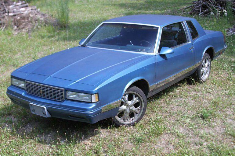 1987 Chevrolet Monte Carlo Luxury Sport Chevrolet Monte Carlo Monte Carlo For Sale Chevrolet