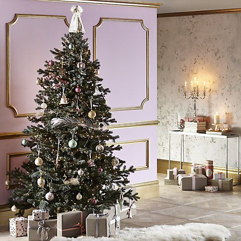 John Lewis Christmas Tree Decorations.Buy John Lewis Ostravia 7ft Whistler Fir Christmas Tree