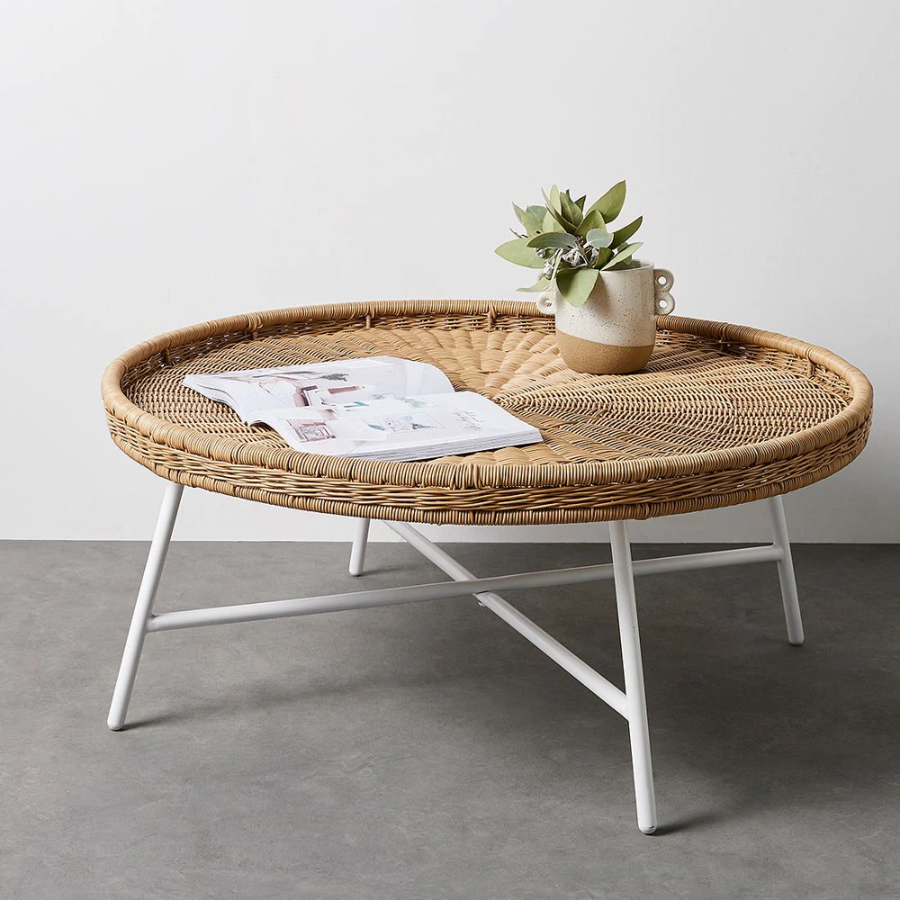 nora wicker coffee table target
